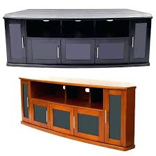 tv stand with glass doors wood cabinet black a view a larger image of the plateau tv stand with glass doors