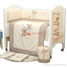 100 cotton embroidery pony with donkey yarra farm story baby bedding set quilt pillow per bed sheet 5 item crib bedding set twin bedding for toddler