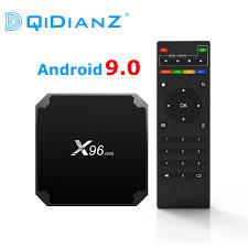 DQiDianZ X96mini new Android 9.0 X96 mini Smart TV BOX S905W Quad Core  support 2.4G Wireless WIFI media box Set Top Box|wifi set top box|smart tv  boxtv box - AliExpress