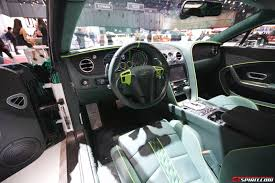 LIVE FROM 2015 GENEVA MOTOR SHOW BENTLEY Sports GT Race Car ...