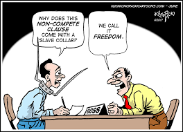 Noncompete Clause Non Compete Clauses Huck Konopacki Cartoons