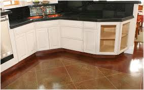 Stained Concrete Kitchen Floor Stained Concrete Stained Concrete Lexington Ky Acid Staining