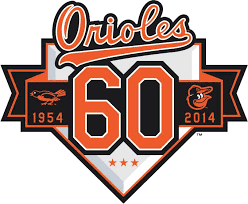 Baltimore Orioles Anniversary Logo - American League (AL) - Chris ...