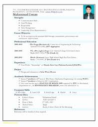 Resume Format For Freshers Free Download New Resumes Doc File Resume