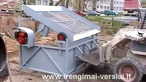 topsoil screener vibrating screen sifter diy do it yourself homemade from drawings you