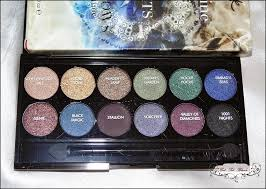 sleek makeup i divine in arabian nights eye shadow palette review swatches eotd get set blush
