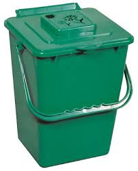 kitchen food trash compost bin collector bucket odor free counter pail container