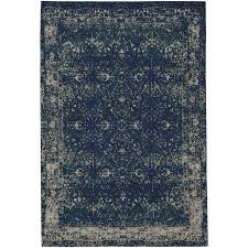 8 x 10 large sapphire blue area rug cosmic star
