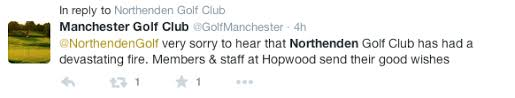 Northenden Golf Club will amazingly bounce back from this