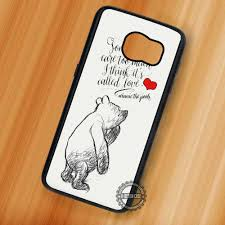 Winnie The Pooh Love Quote Piglet Samsung Galaxy S7 S6 S5 Note 7 Cases Covers
