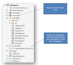 How To Update Visual Studio Asp.Net Core Angular Project To The ...
