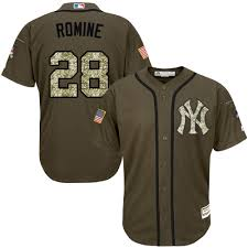 Majestic Baseball Jersey Size Chart Majestic Authentic Austin Romine Mens Green Mlb Jersey