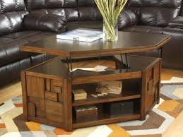 new caspian espresso lift up top coffee table with storage shelf stunning tables throughout small