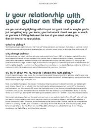 Seymour Duncan How to Pick a Pickup the factors that affect your ...