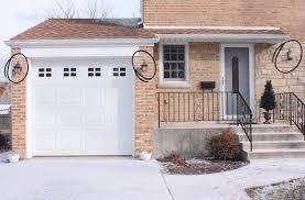 garage door lightsNotable Garage Door Light Garage Door Opener Orange Light