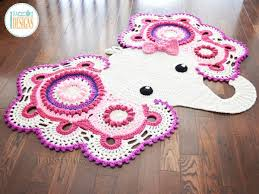 Elephant Rug Crochet Pattern Delectable Josefina And Jeffery Crochet Elephant Rug 48 Pattern Update
