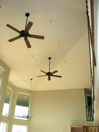 ceiling fans for sloped ceilings fan angled install hunter vaulted adapter ha sloped ceiling fans