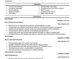 Accounting Clerk Job Description For Resume Cover Letter Sample
