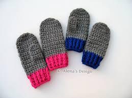 Mittens Pattern Adorable Crochet Mitten Pattern 48 For Children's By AlenasDesign On