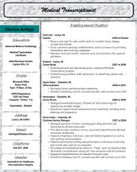Medical Transcription Resume Samples Sidemcicek Com Inside