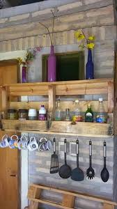 Wall Mounted Kitchen Rack 17 Best Ideas About Wall Mounted Kitchen Shelves On Pinterest