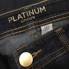 So Slimming By Chico S Size Chart Chico S Platinum Denim See Size Chart