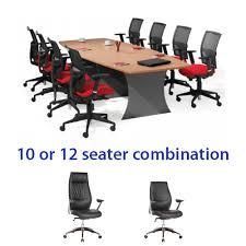 clearance office chair. Origo Boat Shaped Meeting Table \u0026 Excel Executive Office Chair Combo Clearance