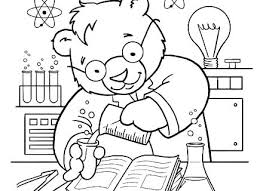 Coloring Sheets Pdf Science Pages Kids For Printable Challenge