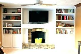 fireplace remodel ideas updated brick fireplaces update red idea before built wall color around