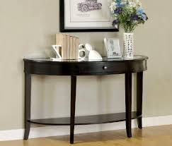 black contemporary sofa tables. Half Moon Sofa Table Fresh On Furniture And Black Designs For 57 With Contemporary Tables