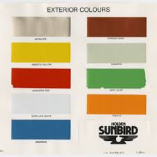 Hq Holden Colour Chart Brg 213 Find State Library Of South Australia