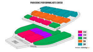 Providence Providence Performing Arts Center Seating Chart