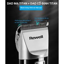 Tông đơ cắt tóc Rewell S7 - pin dung lượng cao 2500mA Lithium