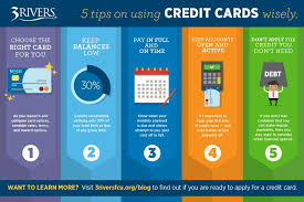 Using A Credit Card To Pay Off A Credit Card 5 Ways To Use Credit Cards Wisely Credit Union Banking Fort Wayne