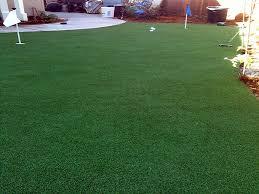 fake turf rancho cucamonga california diy putting green backyard landscape ideas