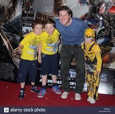 Maclean Burke with Jude, Cillian & Ava Burke 'Transformers 3 - Dark Stock  Photo - Alamy