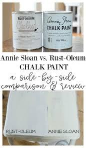 Annie Sloan Chalk Paint Color Chart Annie Sloan Chalk Paint Vs Rust Oleum Chalked Paint
