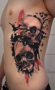 Tetování Lebka A Růže Význam