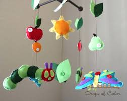 baby mobile for crib nursery caterpillar butterfly inspired by the very diy  . baby mobile for crib ...