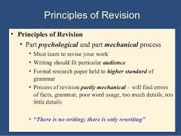 How To Revise A Paper Revision Essay Psychology A Level Aqa Specification A