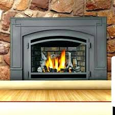 how much does a gas fireplace insert cost best high efficiency gas fireplace insert