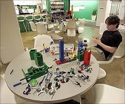 best office in the world. An Employee Plays With Lego At The New York City Offices Of Google. Best Office In World R