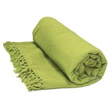 honeycomb  cotton throws extra large luxury thermal throw over