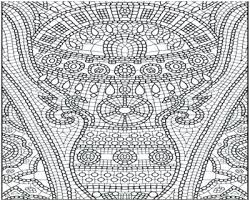 Mosaic Coloring Pages Free Christmas Lovely Figure Of Printable Mar