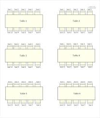 Round Table Seating Chart Banquet Seating Plans Yoit Me