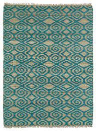 jasmine reversible runner rug turquoise