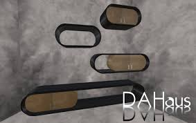 Oval Floating Shelves Magnificent Second Life Marketplace Oval Floating Shelves