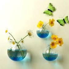 hanging wall vase hanging wall vases plant flower hanging glass vase terrarium wall fish tank aquarium hanging wall vase