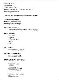 How To Type A Resume On Microsoft Word Types Of Resume How To Type In Word A Mmventures Co