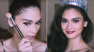 pia wurtzbach teaches you her super glam pageant makeup look